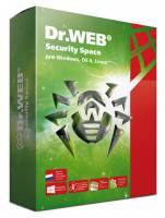 Ключ активации DR.Web 2ПК Security Space LHW-BK-12M-2-A3 12мес